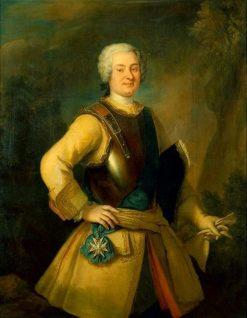 Count Friedrich August von Rutowski | Louis de Silvestre | Oil Painting