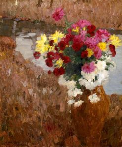 Flowers | Leo Putz | Oil Painting