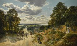 London from Shooters Hill | Samuel Bough | Oil Painting