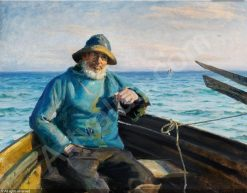Fisherman from Skagen | Michael Peter Ancher | Oil Painting