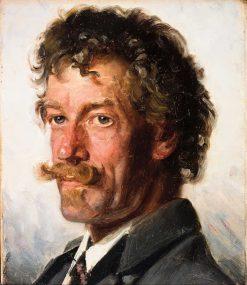 Anton Svendsen   Michael Peter Ancher   Oil Painting