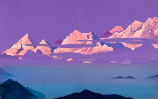 The Himalayas | Nicholas Roerich | Oil Painting