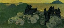 The Crows | Nicholas Roerich | Oil Painting