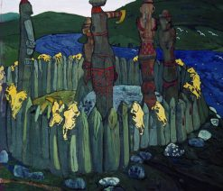 Idols | Nicholas Roerich | Oil Painting