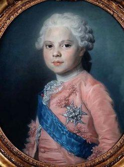 Portrait de Louis Stanislas Xavier de France