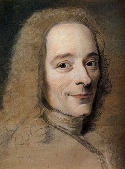 Voltaire | Maurice Quentin de La Tour | Oil Painting