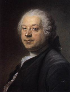 Painter Charles Parrocel | Maurice Quentin de La Tour | Oil Painting