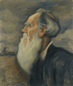 Portrait of Leo Tolstoy | Leonid Osipovich Pasternak | Oil Painting