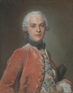 Portrait of Henry Dawkins | Maurice Quentin de La Tour | Oil Painting