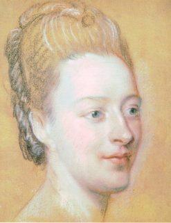 Isabelle de Zuylen | Maurice Quentin de La Tour | Oil Painting