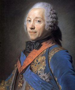 Charles Louis Auguste Fouquet de Belle-Isle | Maurice Quentin de La Tour | Oil Painting