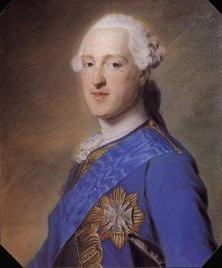 Francois-Xavier de Saxe | Maurice Quentin de La Tour | Oil Painting
