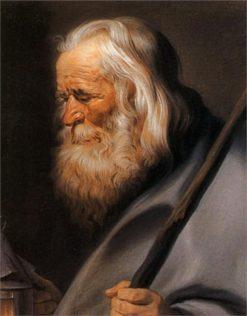 Diogenes | Maurice Quentin de La Tour | Oil Painting