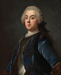 Portrait of a Man   Olof Arenius   Oil Painting