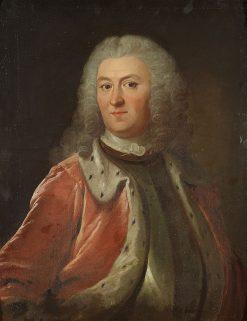 Portrait of Axel Löwen   Olof Arenius   Oil Painting