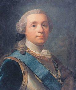 Portrait of the Swedish Field Marshal