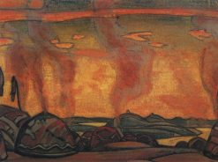 The Cuman Camp | Nicholas Roerich | Oil Painting