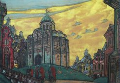 Putivl | Nicholas Roerich | Oil Painting