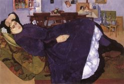 Siesta   Max Buri   Oil Painting