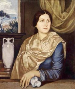 Portrait of a Woman | Emile Bernard | Oil Painting