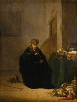The Gold Weigher | Willem de Poorter | Oil Painting