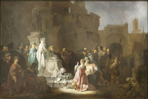 St. Paul and St. Barnabus at Lystra | Willem de Poorter | Oil Painting