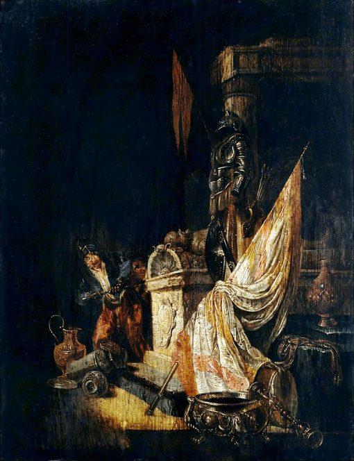 Vanitas Allegory   Willem de Poorter   Oil Painting