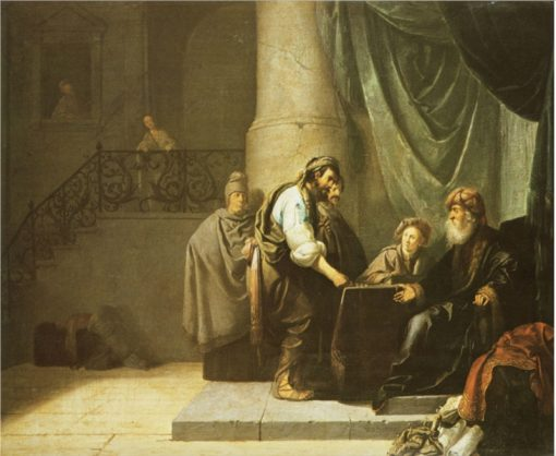 The Parable of The Talents   Willem de Poorter   Oil Painting