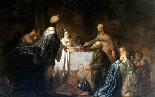 Joseph and his brothers | Willem de Poorter | Oil Painting