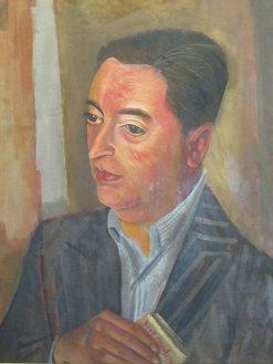 Joaquin Edwards Bello | Boris Grigoriev | Oil Painting