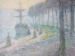 Fog on the Midi | Henri Le Sidaner | Oil Painting