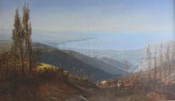 View of Valparaíso | Thomas Jacques Somerscales | Oil Painting