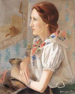 Portrait of a Lady | Boris Grigoriev | Oil Painting