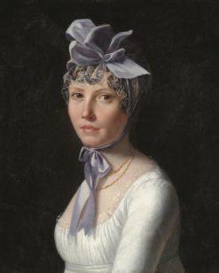 Portrait of a Lady | Henri Nicolas van Gorp | Oil Painting
