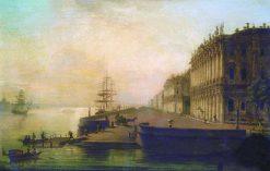 View of St. Petersburg | Maxim Vorobyov | Oil Painting