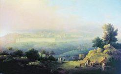 View of Jerusalem | Maxim Vorobyov | Oil Painting