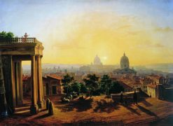 Rome | Maxim Vorobyov | Oil Painting