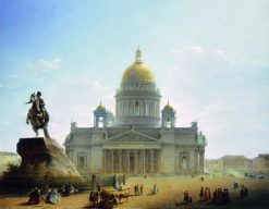 St. Isaacs Cathedral | Maxim Vorobyov | Oil Painting