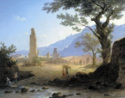 Italian Landscape   Maxim Vorobyov   Oil Painting