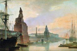 The Neva Embankment | Maxim Vorobyov | Oil Painting