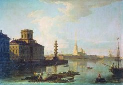 The Peter and Paul Fortress | Maxim Vorobyov | Oil Painting