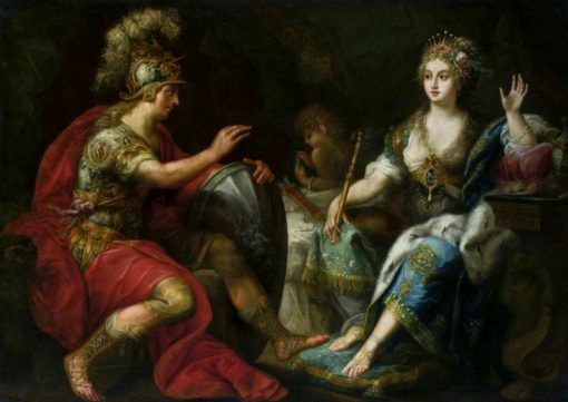 Aeneas and Dido | Lorenzo Pasinelli | Oil Painting
