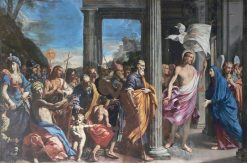 The Resurrected Christ Visits his Mother | Lorenzo Pasinelli | Oil Painting