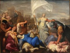 The Martyrdom of St. Ursula | Lorenzo Pasinelli | Oil Painting