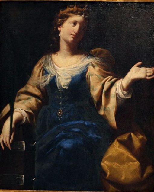 St. Catherine | Lorenzo Pasinelli | Oil Painting