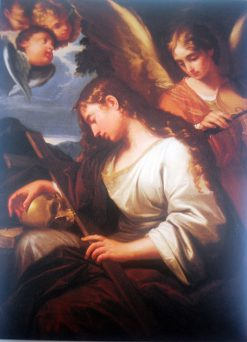 Penitent Magdalene | Lorenzo Pasinelli | Oil Painting