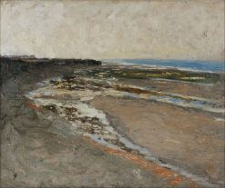 Seashore at Luc-sur-Mer | Carl Fredrik Hill | Oil Painting