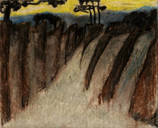 Twilight landscape | Carl Fredrik Hill | Oil Painting
