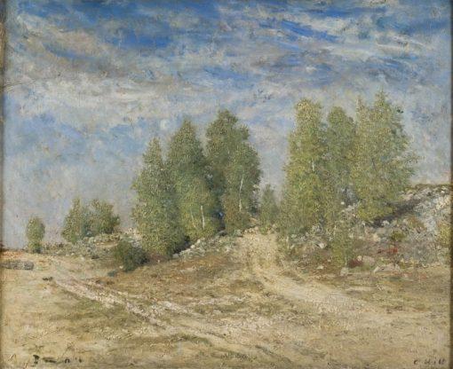 Gravel Slope | Carl Fredrik Hill | Oil Painting