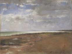 The Beach at Luc | Carl Fredrik Hill | Oil Painting